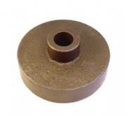 "Cast MI Block to suit 4"" 16swg round steel tube / 3/4"" steel shaft"